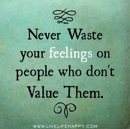 being valued